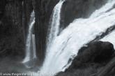 Feathery waterfalls
