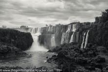 San Martin Falls, one of the bigger, named falls