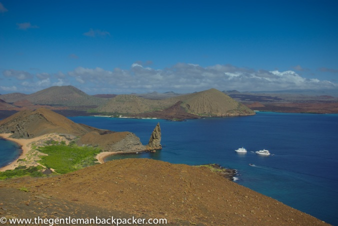 The unique landscape of the Galapagos Islands