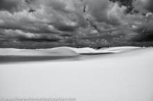 """""""Purity"""": White sand and still waters. Lencois Maranhenses, Brazil, June, 2010."""